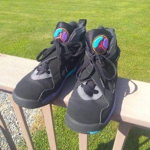 Air Jordan Colorful Size Y7 Shoes